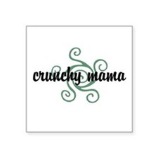 Crunchy mama Sticker