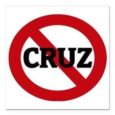 "CRUZ Square Car Magnet 3"" x 3"""