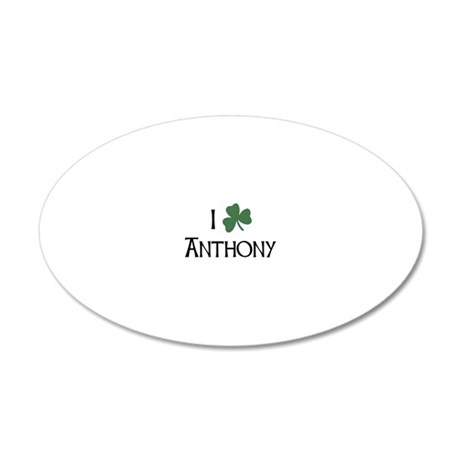 shams__Anthony_A 20x12 Oval Wall Decal