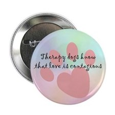 "Love is Contagious 2.25"" Button (10 pack)"