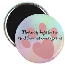 "Love is Contagious 2.25"" Magnet (10 pack)"