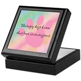 Love is Contagious Keepsake Box
