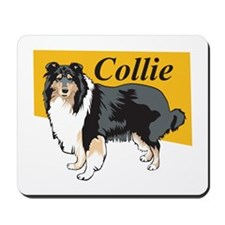 Collie Title Mousepad