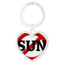 SUN Heart Keychain
