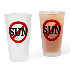 SUN Drinking Glass