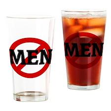 MEN Drinking Glass