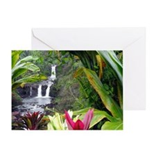 Umauma Falls Greeting Card