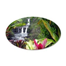 Umauma Falls Wall Decal