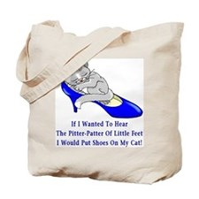 Cat Shoes Tote Bag