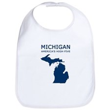 Cute Michigan Bib