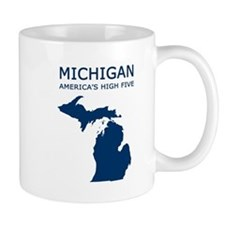 Cute Michigan Mug