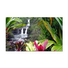 Umauma Falls Rectangle Car Magnet
