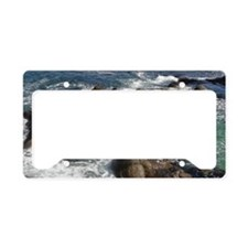 California Ocean 01 License Plate Holder