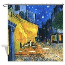 Van Gogh CafeTerrace at Night Shower Curtain