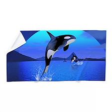 Orca Beach Towel
