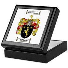 Wilson Coat of Arms Family Crest Keepsake Box