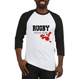 No Blood No Foul Rugby Baseball Jersey