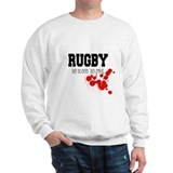 No Blood No Foul Rugby Sweatshirt