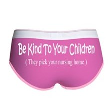 kind-black Women's Boy Brief