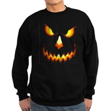pumpkinface-black Sweatshirt