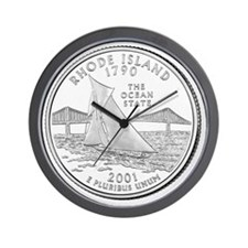 Rhode Island-black Wall Clock