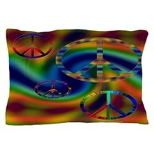 College Dorm Room Retro 60's Sixties Pillow Case