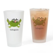 Infrognito Drinking Glass