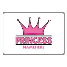 Custom Princess Banner