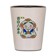 japanese doll Shot Glass