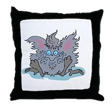 dustbunnyy copy Throw Pillow