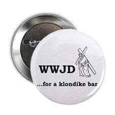 WWJD... for a klondike bar? Button