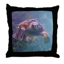sea turtle 3 Throw Pillow