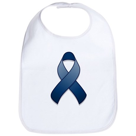 Dark Blue Awareness Ribbon Bib