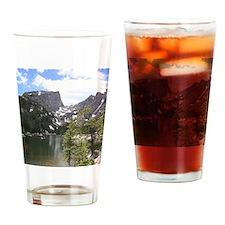 Dream Lake, Colorado Drinking Glass