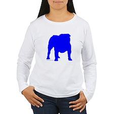 Blue Bulldog Silhoutte T-Shirt