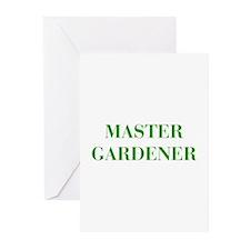 MASTER-GARDENER-BOD-GREEN Greeting Cards (Pk of 10