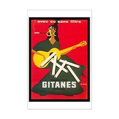 Gitanes 2 Mini Poster Print