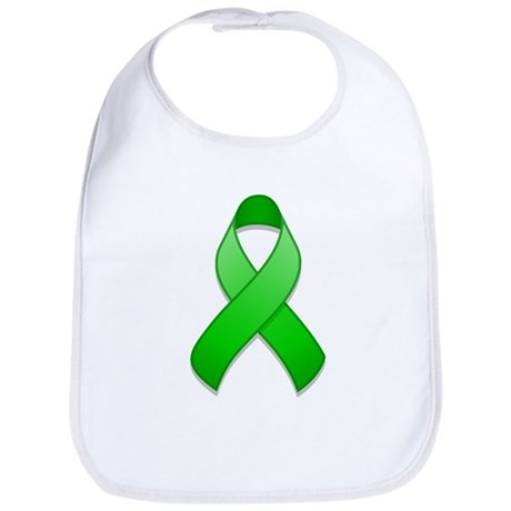 Green Awareness Ribbon Bib
