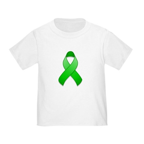 Green Awareness Ribbon Toddler T-Shirt