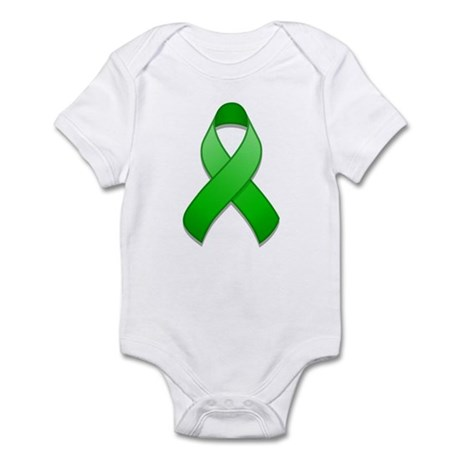 Green Awareness Ribbon Infant Bodysuit