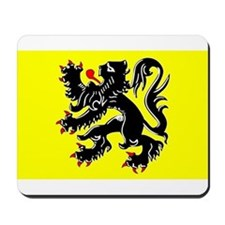Flanders Flag Mousepad