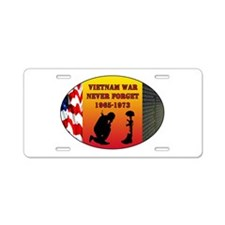 Vietnam War Memorial Aluminum License Plate