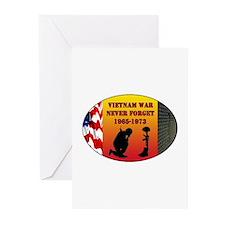 Vietnam War Memorial Greeting Cards (Pk of 20)
