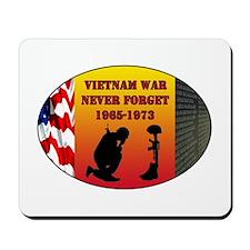 Vietnam War Memorial Mousepad
