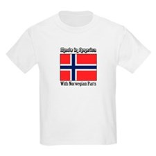 Norwegian Parts Kids T-Shirt