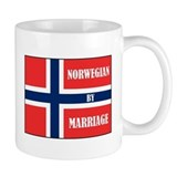 Norwegian by Marriage Small Mug