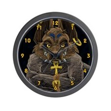 Psycho Zuka Wall Clock