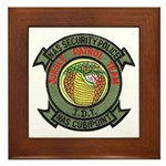 Cubi Point Jungle Patrol Framed Tile