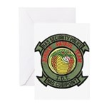 Cubi Point Jungle Patrol Greeting Cards (Package o