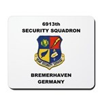 6913TH SECURITY SQUADRON Mousepad